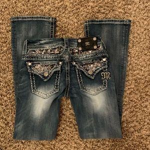 Miss Me bootcut jeans pants size 25